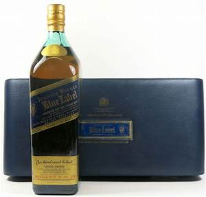 Whisky Johnnie Walker, Blue Label, leather box, 1.75 L ...