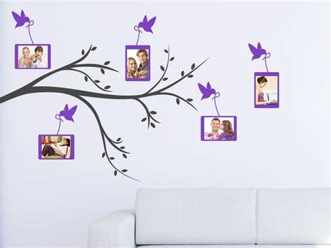 Wandtattoo Bilderrahmen Baum by Wandtattoo Mit Fotorahmen Wandtattoo Pusteblume Mit
