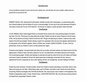 screenplay outline template 8 free word excel pdf With screenplay outline template