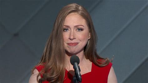 chelsea clinton   mother  forgets  shes