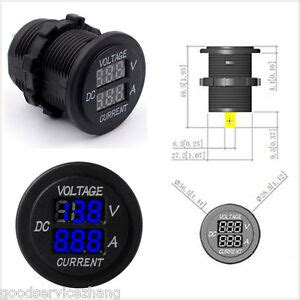 New Dual Led Digital Panel Voltmeter Ammeter Amp