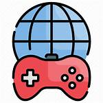 Icon Gameplay Technology Futuristic Sharing Iconfinder Editor