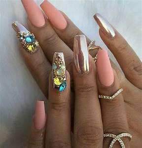 Ongles Pinterest : get more follow chrisstinaa nailsss pinterest ongles manucure et ongles longs ~ Dode.kayakingforconservation.com Idées de Décoration