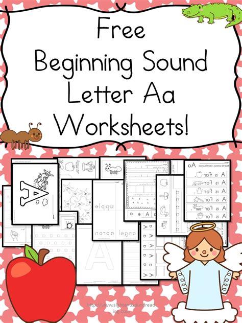 beginning sound letter  worksheets