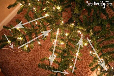 where to put christmas tree how to put lights on a christmas tree