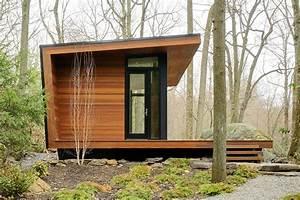 Gallery: A modern studio retreat in the woods workshop