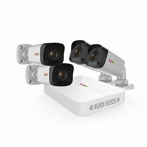 Revo Ultra HD 4-Channel 1TB NVR Surveillance System with 4 ...