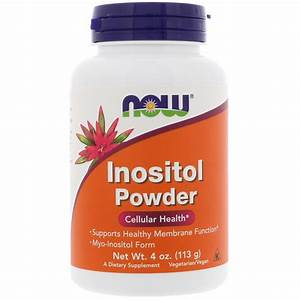 Now Foods  Inositol Powder  4 Oz  113 G