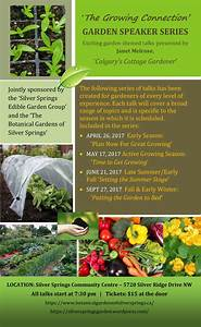 The Growing Connection - Garden Speaker Series - Cambrian ...