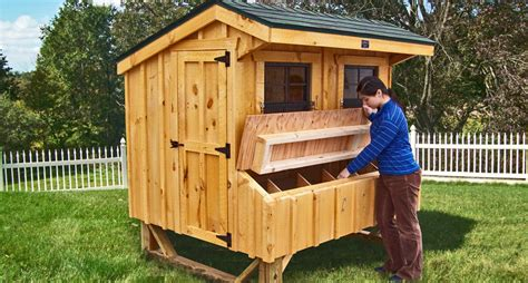 Pvc Boden Coop by Amish Chicken Coop