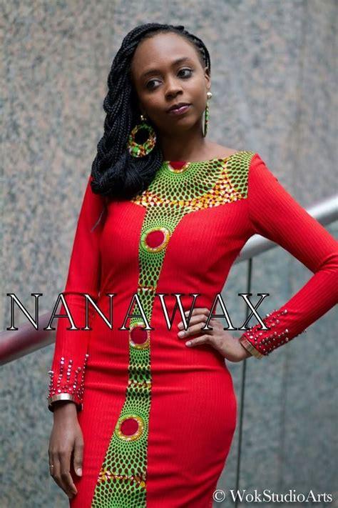 vestido detalhes em capulana capulana roupas em capulana em 2019 roupas africanas