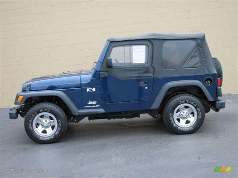 dark green jeep patriot 2003 patriot blue jeep wrangler x 4x4 24874890 gtcarlot