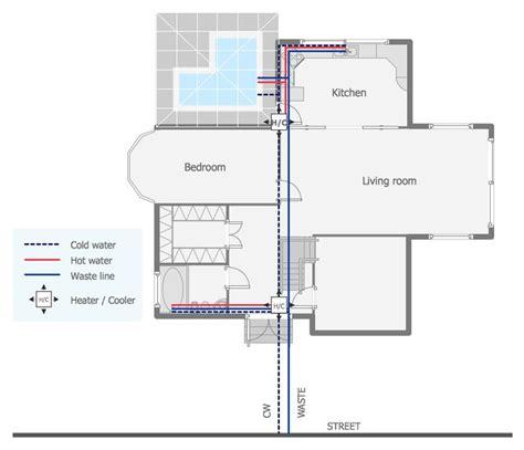 plumbing plans  plumbing drawing residential plumbing