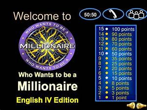 who want to be a millionaire template powerpoint with With who want to be a millionaire template powerpoint with sound
