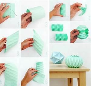 Windlicht Falten Transparentpapier : origami lampe 5 anleitungen f r eine originelle lichtquelle ~ Lizthompson.info Haus und Dekorationen