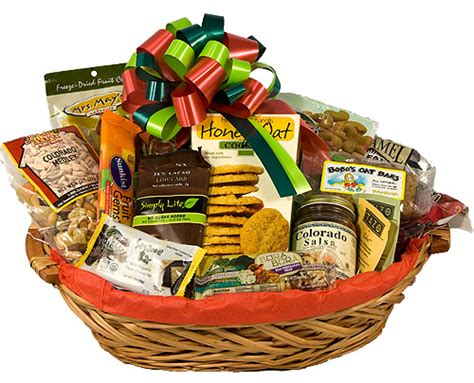 hear healthy christmas baskets healthy gift basket holiday