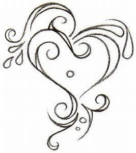 Girls Cute Heart Tattoos | tattoo art gallery