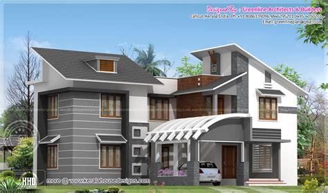 Modern Kerala House Exterior In 2750 Sqfeet  Kerala Home