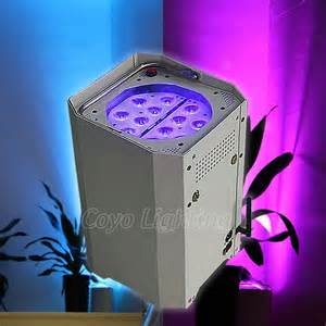 outdoor wireless battery powered led uplighting for wedding event chauvet well 2 0