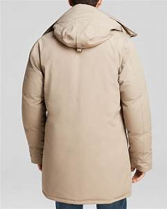 Canada Goose Langford Parka With Fur Hood In Natural For
