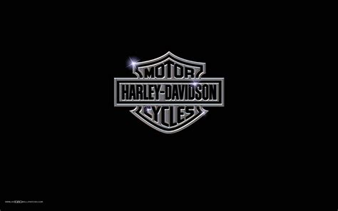 harley davidson logo motorcycle hd wallpaper