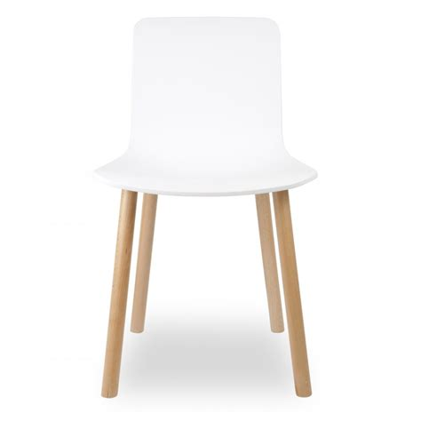 chaises salle a manger moderne eames style white dining chair cult uk