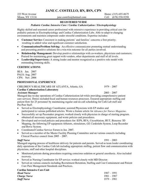 Lpn resume summary