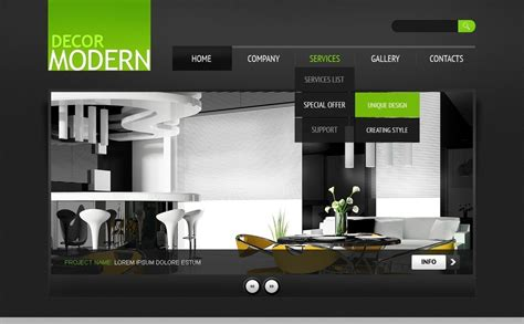 home interiors and gifts website best website for home decor plantilla psd 56694 para