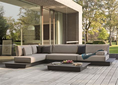 Landscape Big Sofa by Manutti Air Medium Garden Corner Sofa Manutti Garden