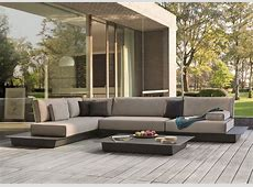 Manutti Air Medium Garden Corner Sofa Modern Garden