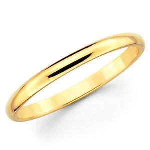 solid yellow gold mm plain mens  womens wedding