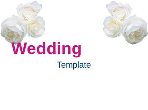 wedding powerpoint templates  sample