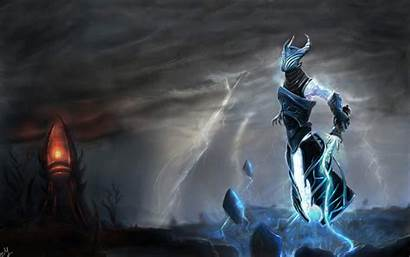 Dota Razor Wallpapers Zeus Heroes Pantalla Revenant