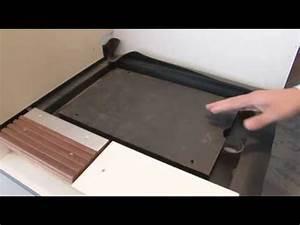 Barrierefreie Dusche Nachträglicher Einbau : bodengleiche dusche von kleindesign gmbh youtube ~ Michelbontemps.com Haus und Dekorationen