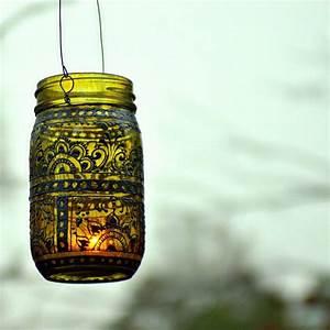 Diy, Mason, Jar, Lantern