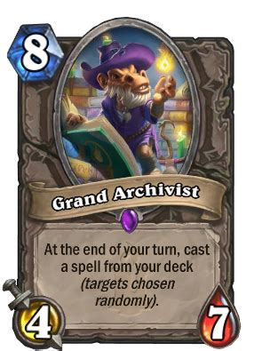 Icy Veins Deck Basic by Grand Archivist Neutral Card Hearthstone