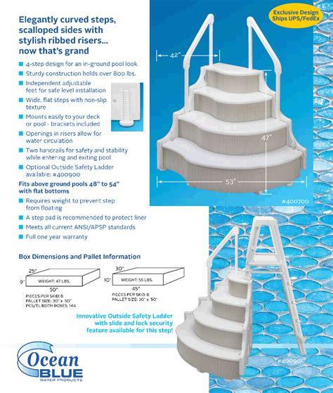 decorating   create  ground pool ladders