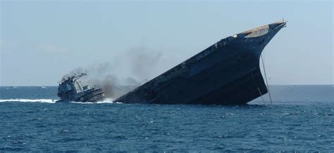 Uss America Sinking Location by Uss Oriskany Sunk As Aritifical Reef 2006 Naval Matters
