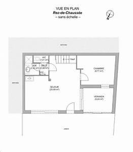 plan de maison 2 pieces gratuit With plan de maison 2 pieces