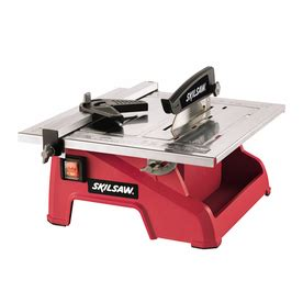 shop skil 7 in wet tabletop tile saw at lowes com
