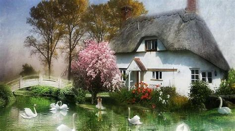 country cottage wallpaper country wallpapers 41