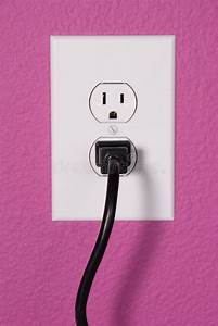A 110 Volt Wall Outlet Stock Photo  Image Of Appliance