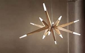 Lustre Bois Design : lampadari in legno moderni dal design contemporaneo ~ Teatrodelosmanantiales.com Idées de Décoration