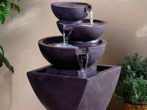 lovable portable water fountain the joy of interior water