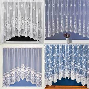 Net, Curtains, Jardinieres, Lace, Curtain, Panel, Ready, To, Hang