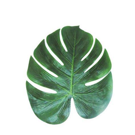 feuille de palmier deco feuilles de palmier d 233 co tropicale set de table feuille de palmier