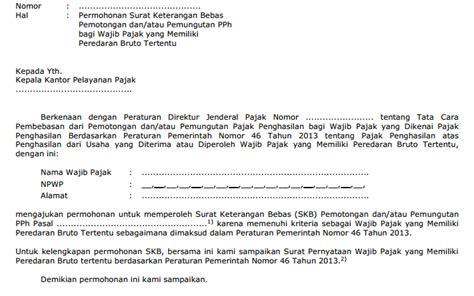 contoh surat pernyataan faktur pajak downlllll