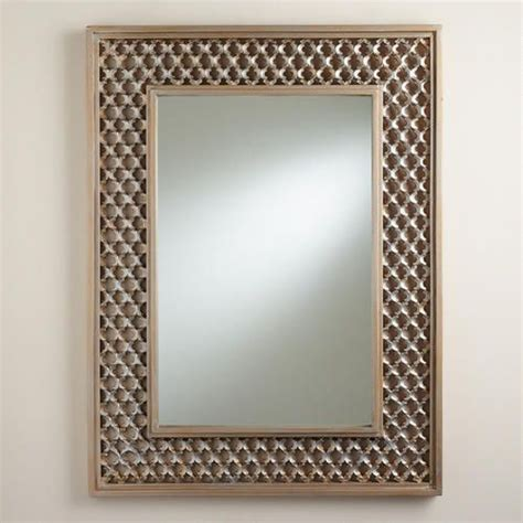 quatrefoil floor mirror quatrefoil nina mirror home fireplaces and quatrefoil
