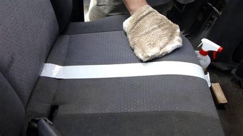 nettoyant siege voiture comment nettoyer un siège de voiture en tissu