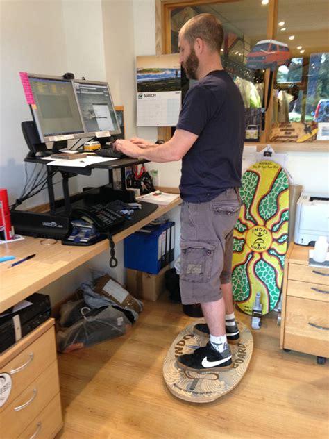 standing desk balance board standing desk balance board indo board with indoflo cushion
